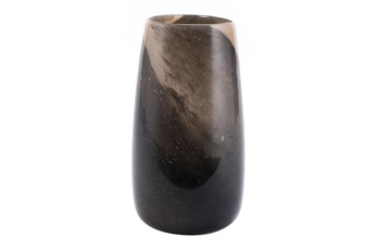 12 Inch Multicolor Brown Tone Vase
