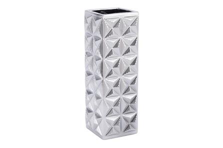17 Inch Kaleidoscope Patterened Vase - Main