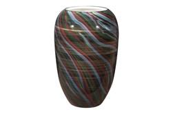15 Inch Multicolor Galax Vase