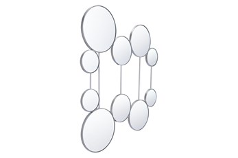 Layered Circle Connected Wall Mirror