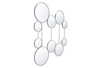 Layered Circle Connected Wall Mirror