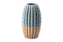 12 Inch Cactus-Like Textured Vase