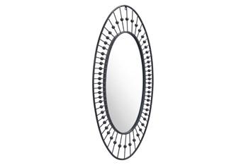 Circle Design Wall Mirror
