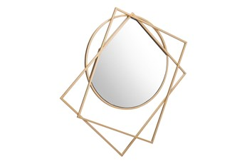 Multi Shape Cut Out Wall Mirror