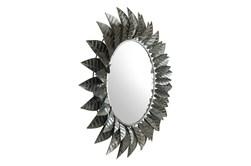 Circle Leaf Wall Mirror