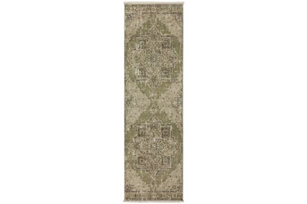 27X92 Runner Rug-Marseille Distressed Aloe - Main
