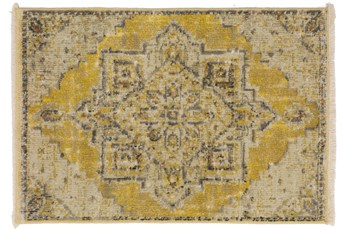 24X36 Rug-Marseille Distressed Lemon
