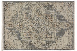 24X36 Rug-Marseille Distressed Pewter