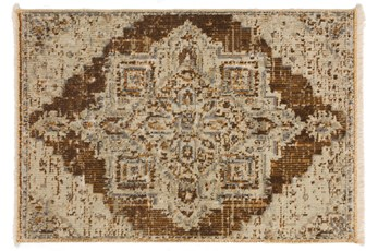 24X36 Rug-Marseille Distressed Walnut