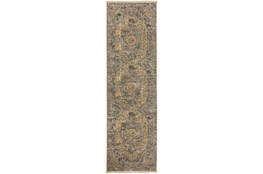 27X92 Runner Rug-Marseille Distressed Goldenrod