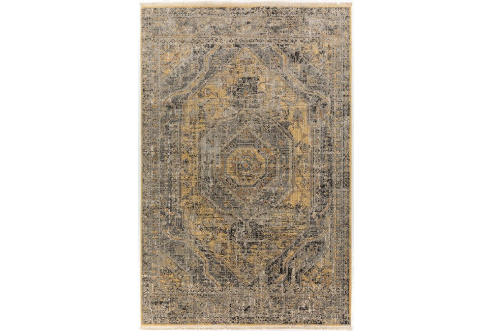 "7'5""x9'6"" Rug-Marseille Distressed Goldenrod"