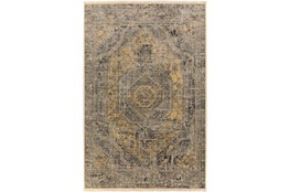 90X116 Rug-Marseille Distressed Goldenrod