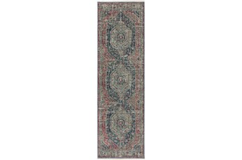 "2'3""x7'7"" Runner Rug-Marseille Distressed Parade"