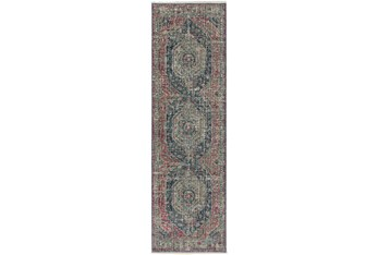"""Cl Runner Rug-2'3""""X7'7"""" Marseille Distressed Parade"""