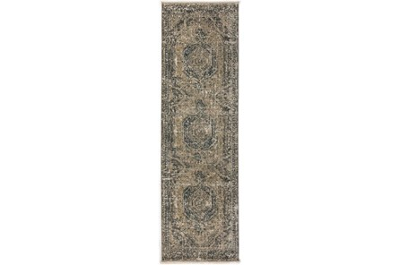 27X92 Runner Rug-Marseille Distressed Taupe - Main