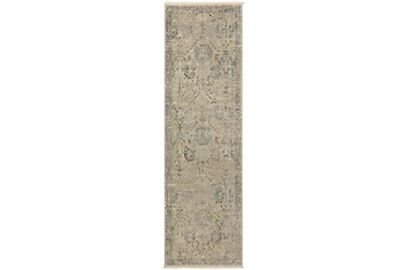 27X92 Runner Rug-Marseille Distressed Ivory - Main