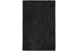 "3'5""x5'5"" Rug-Nazca Lines Black"