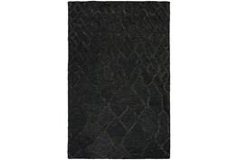 "5'x7'5"" Rug-Nazca Lines Black"