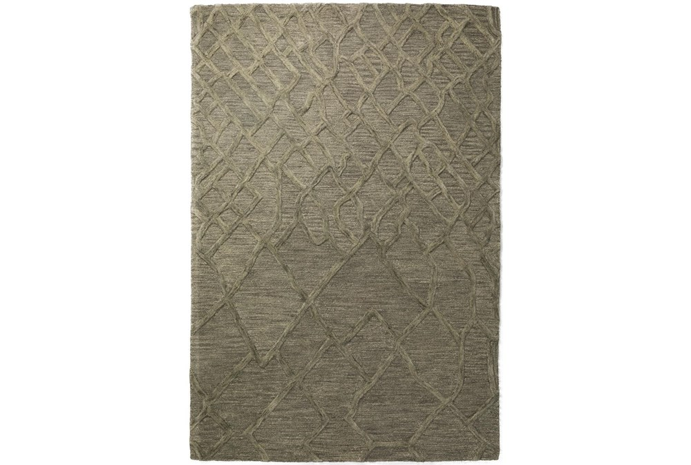 42X66 Rug-Nazca Lines Charcoal