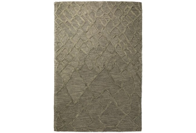 42X66 Rug-Nazca Lines Charcoal - 360