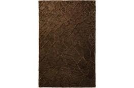 2'x3' Rug-Nazca Lines Chocolate