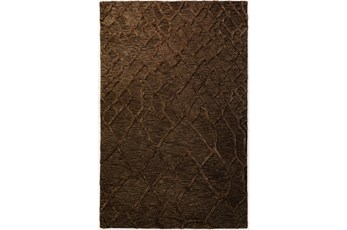 24X36 Rug-Nazca Lines Chocolate