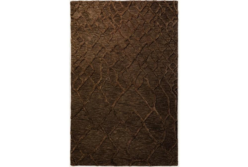 27X90 Runner Rug-Nazca Lines Chocolate