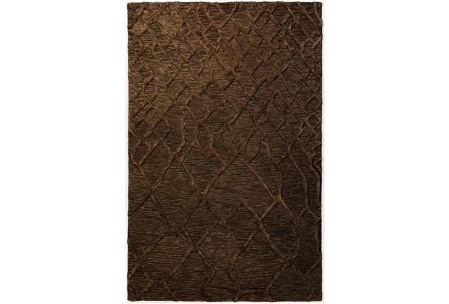 27X90 Runner Rug-Nazca Lines Chocolate - 360