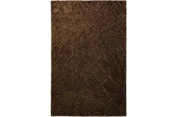 8'x10' Rug-Nazca Lines Chocolate