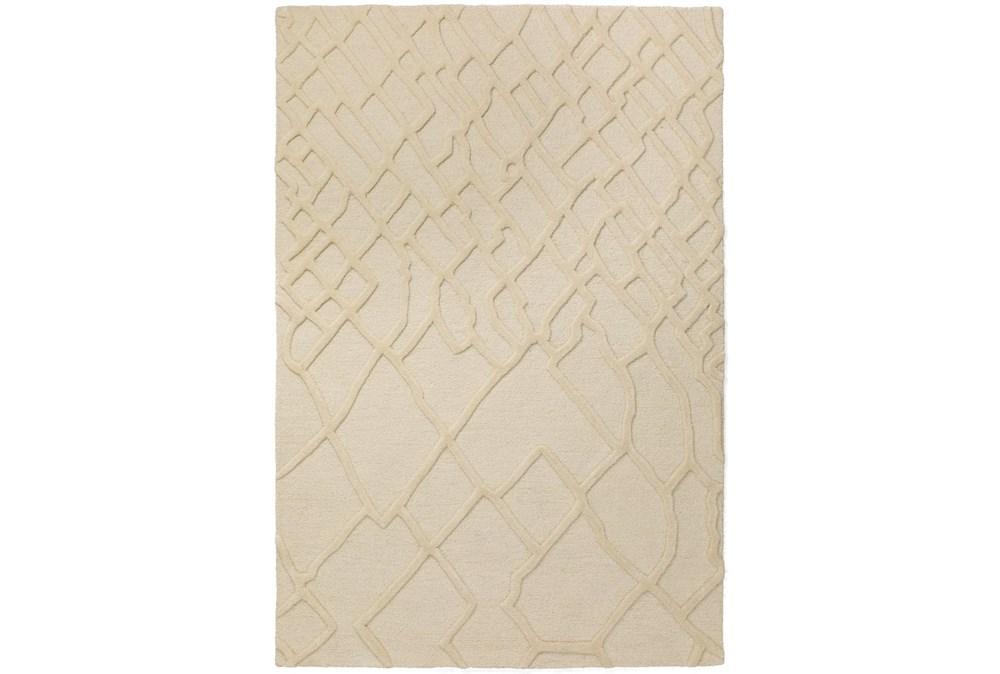 2'x3' Rug-Nazca Lines Ivory