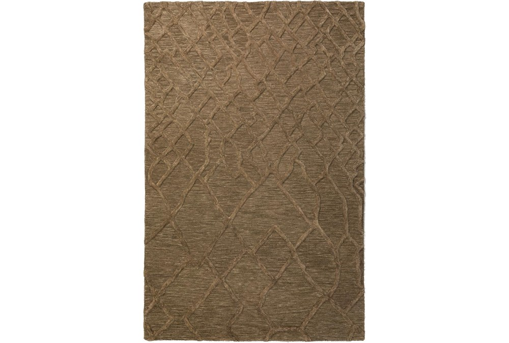96X120 Rug-Nazca Lines Mushroom