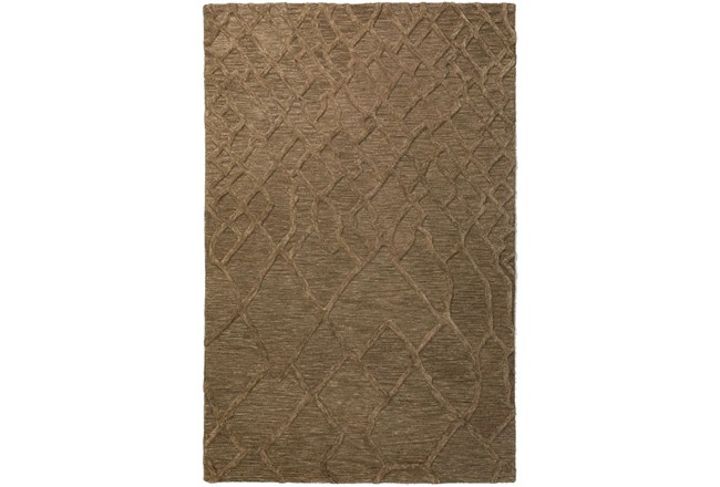 96X120 Rug-Nazca Lines Mushroom - 360
