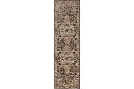 27X89 Runner Rug-Seville Vintage Chocolate - Main