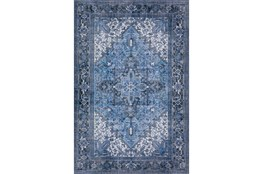"8'5""x12'7"" Rug-Sterling Distressed Cobalt"