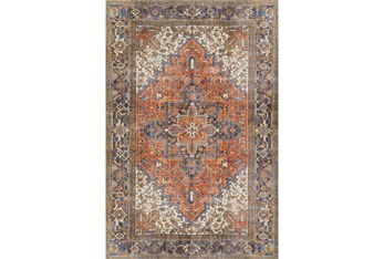 """1'7""""x2'5"""" Rug-Sterling Distressed Copper"""