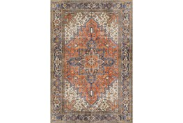 """2'3""""x7'6"""" Runner Rug-Sterling Distressed Copper"""
