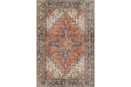 27X91 Runner Rug-Sterling Distressed Copper - Main