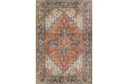 """7'8""""x9'8"""" Rug-Sterling Distressed Copper"""