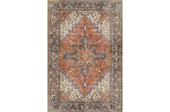 94X118 Rug-Sterling Distressed Copper