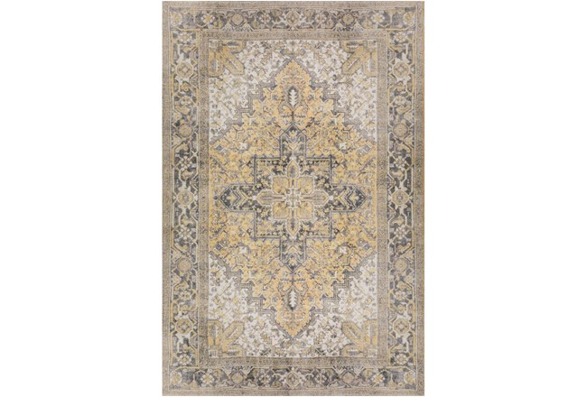 "5'x7'6"" Rug-Sterling Distressed Gold - 360"