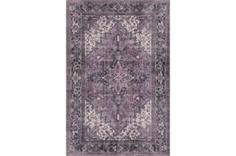 60X91 Rug-Sterling Distressed Plum