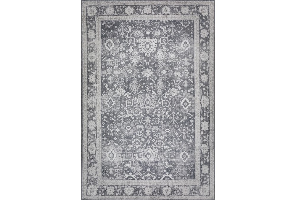 """1'7""""x2'5"""" Rug-Sterling Distressed Dove"""