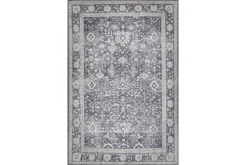 """Cl Rug-1'7""""X2'5"""" Sterling Distressed Dove"""