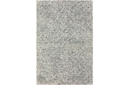 "2'3""x7'5"" Runner Rug-Vedara Diamonds Charcoal"
