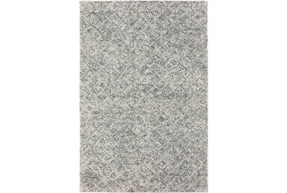 42X66 Rug-Vedara Diamonds Charcoal
