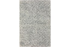 96X120 Rug-Vedara Diamonds Charcoal