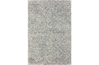 8'x10' Rug-Vedara Diamonds Charcoal