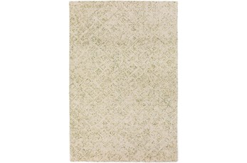 60X90 Rug-Vedara Diamonds Lime