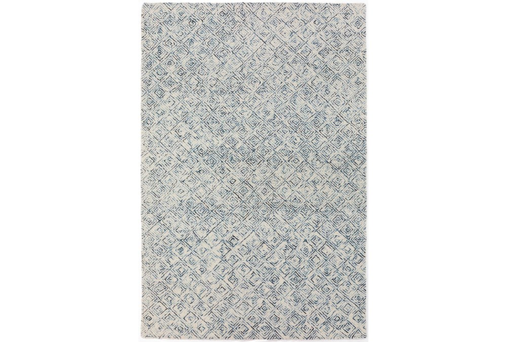 "2'3""x7'5"" Runner Rug-Vedara Diamonds Navy"