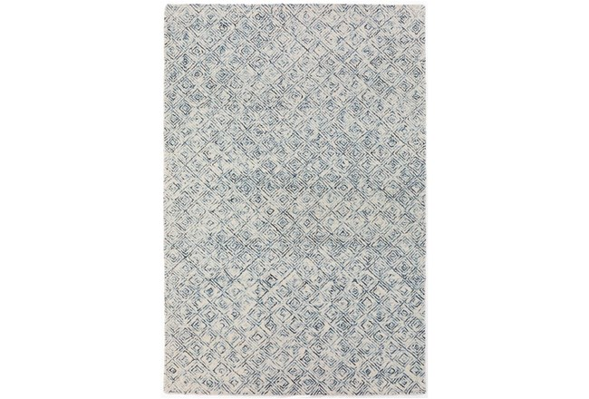 "2'3""x7'5"" Runner Rug-Vedara Diamonds Navy - 360"